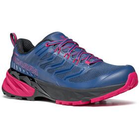 Scarpa Rush GTX Shoes Women blue/fuxia